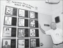 Carroll Ashburn at the Northern Neck Wall of Fame in Kilmarnock, Virginia. See the video interview: http://youtu.be/Kbyqd4GQ11U