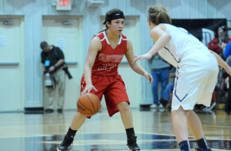 Follow cleveland.com beat reporter Nathaniel Cline during the girls basketball 2015-16 season. Pictured is Wadsworth sophomore point guard Sophia Fortner. (File photo)
