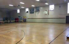 Northeast Ohio College Prep's gymnasium in Tremont. (Nathaniel Cline, cleveland.com)
