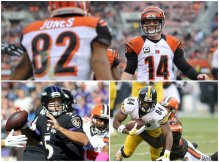 So how did the AFC North teams fare in the NFL Draft this weekend? The Cincinnati Bengals won the AFC North, but what did the Baltimore Ravens and Pittsburgh Steelers do to improve?  (Joshua Gunter and John Kuntz, cleveland.com and Frank Victores, Associated Press)